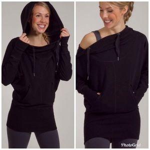 Lululemon Flashback Black Pullover Hoodie Sweater